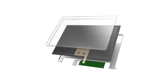 Capacitive Touchscreen USB Monitor Open Frame