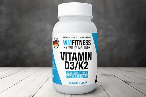 Vitamin D3+K2 60Stk