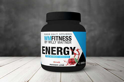 ENERGY - Pre Workout Booster 250gr