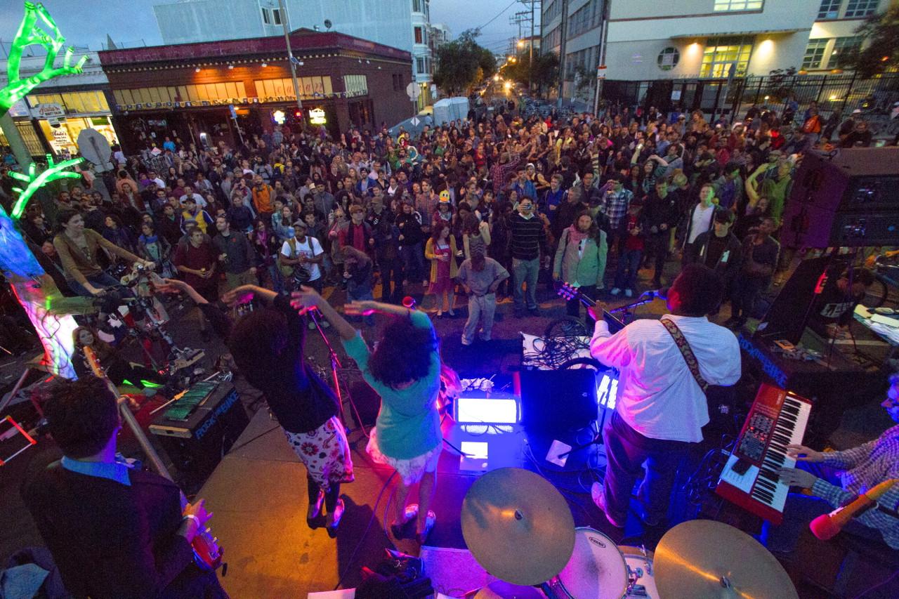 Quinn DeVeaux at Bicycle Music Festival VI - San Francisco, CA.