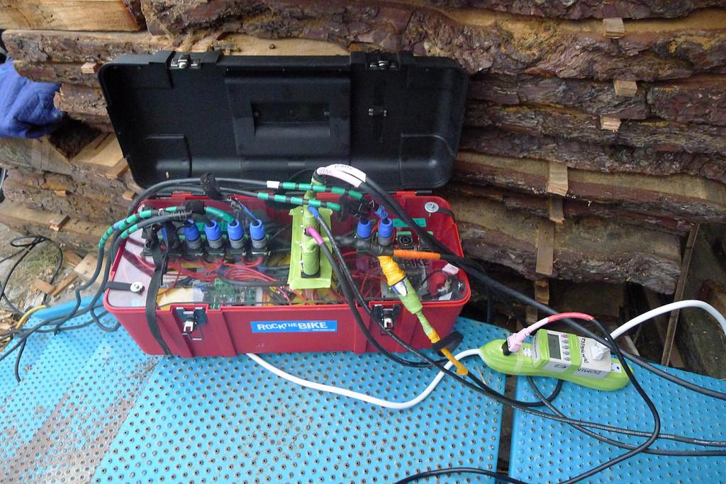 Studio Ecotopia's pedal power utility box