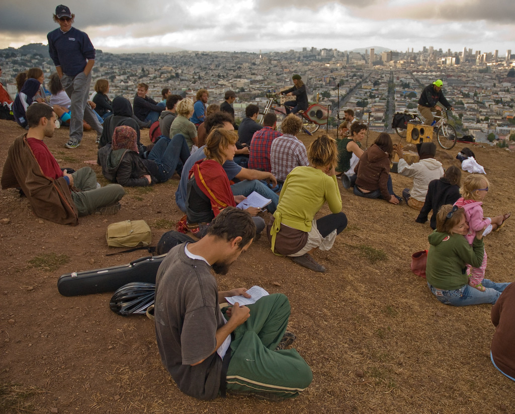 Live it Up Swet on Bernal Hill