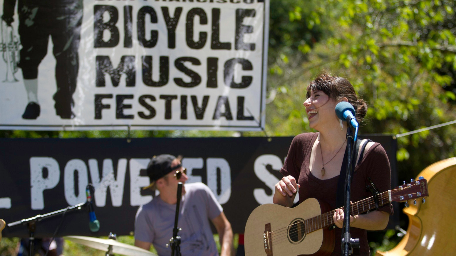 Lia Rose at Bicycle Music Festival 2012