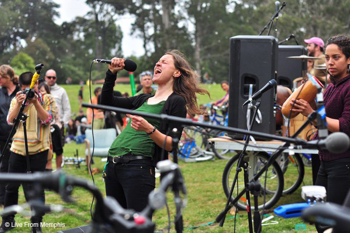 Locura at Bicycle Music Festival 2011