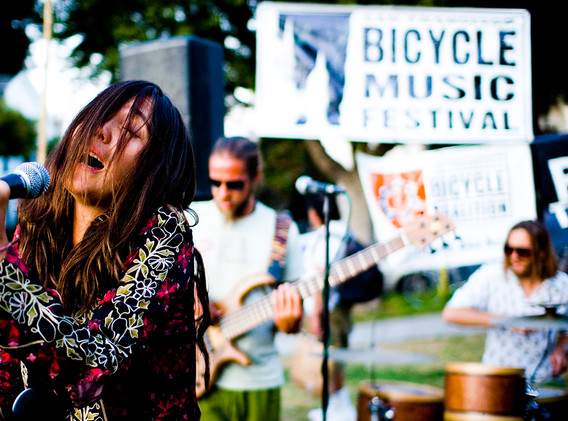 Ginger Ninjas at Bicycle Music Festival
