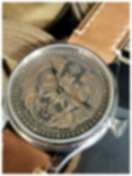 Engraved Dial Celtic Style Watch