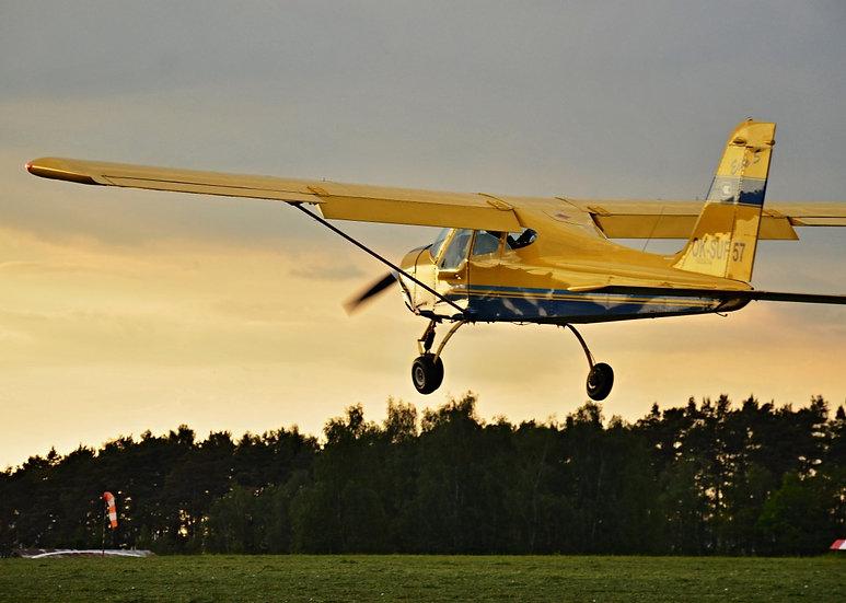 Pilotem na zkoušku - 30 minut