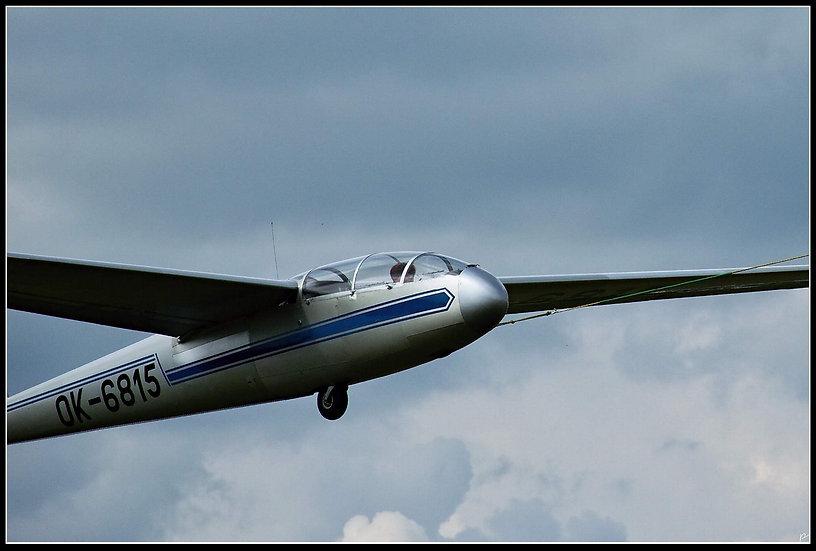 Let kluzákem L-13 Blaník