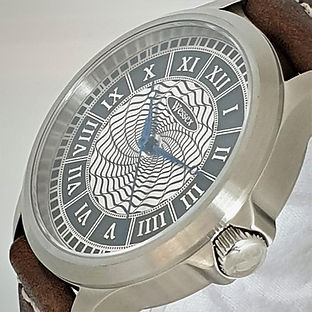 Wessex Spiral Guilloché Automatic Watch