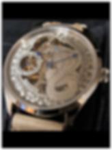 Engraved Dial skeleton Cobra Watch