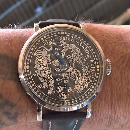 Wessex Watches customised Celestial Balance watch