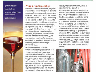 Use of SO2 in High-pH Wines