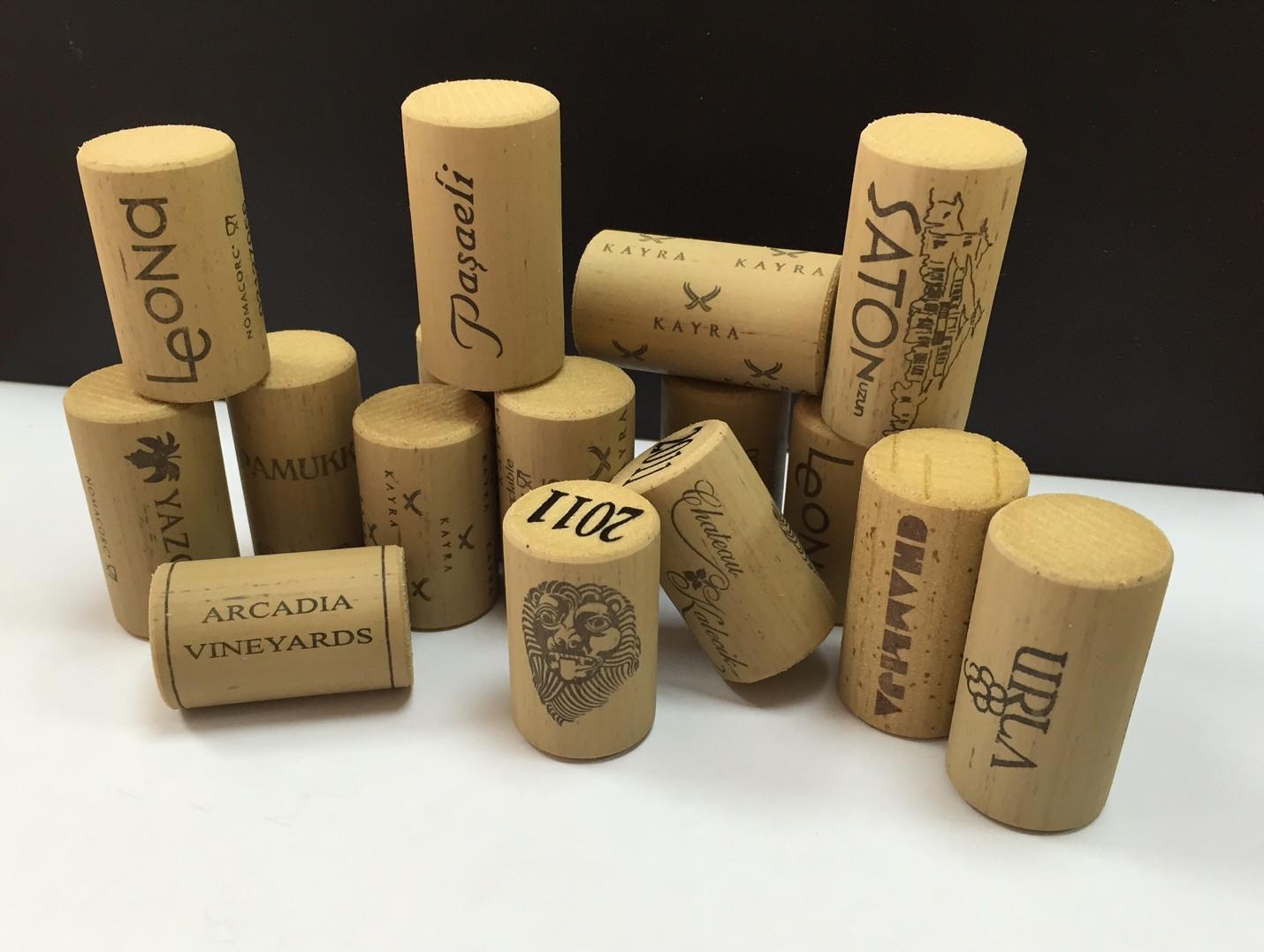 Customer logo-corks