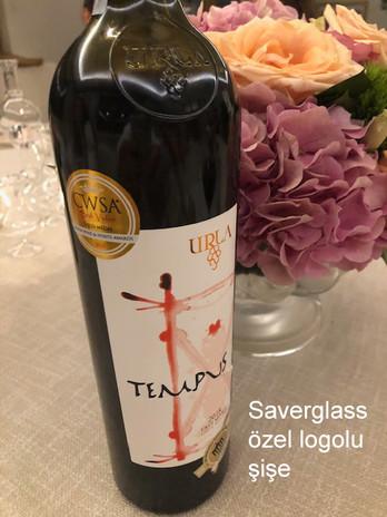 URLA Tempus özel logolu şişe