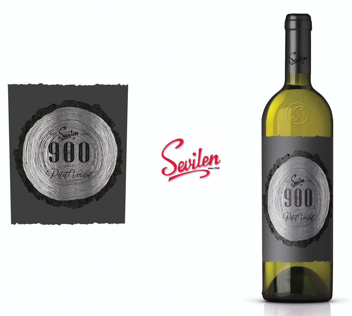 900 Petit Verdot-Sevilen logo