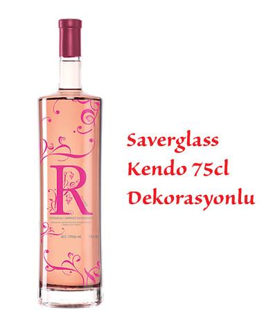 Sevilen R Rose Saverglass Deco
