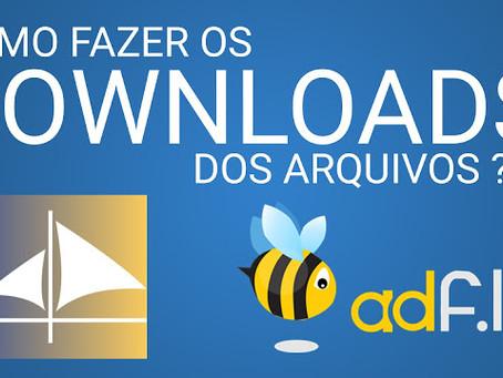 Como fazer o download dos arquivos
