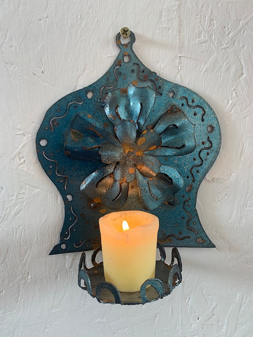 Wall sconce flower 2
