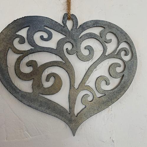 Heart swirl 9
