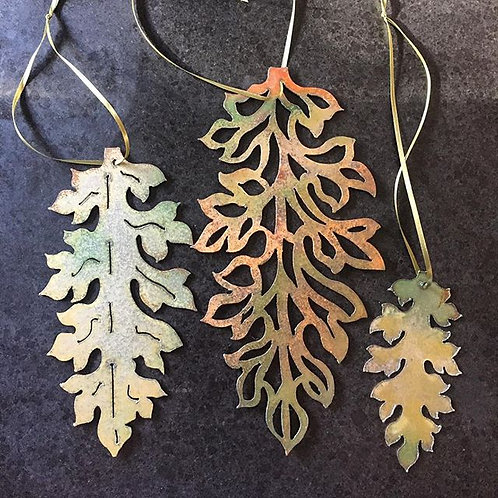 Trio of Leaves