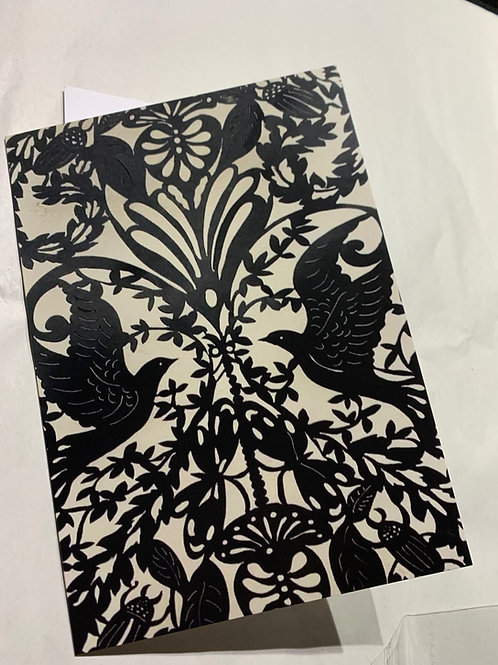 birds and beetles card
