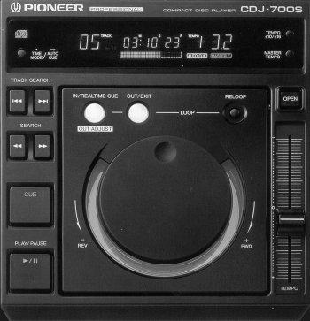 Pioneer CDJ 700
