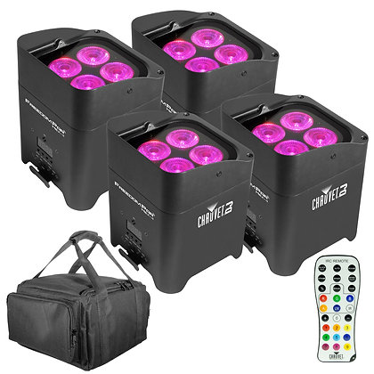 CHAUVET Freedom™ Par Hex-4  Battery Powered Wirele