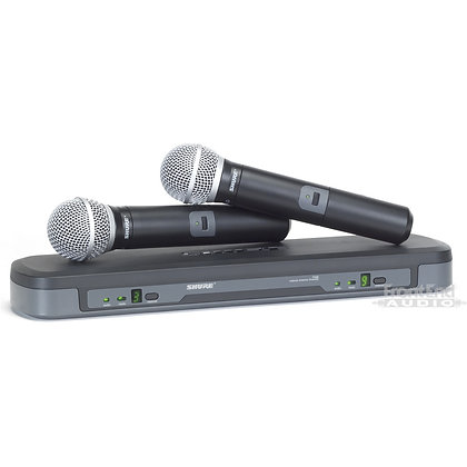 Shure BLX288/PG58 Dual Channel Wireless Mic