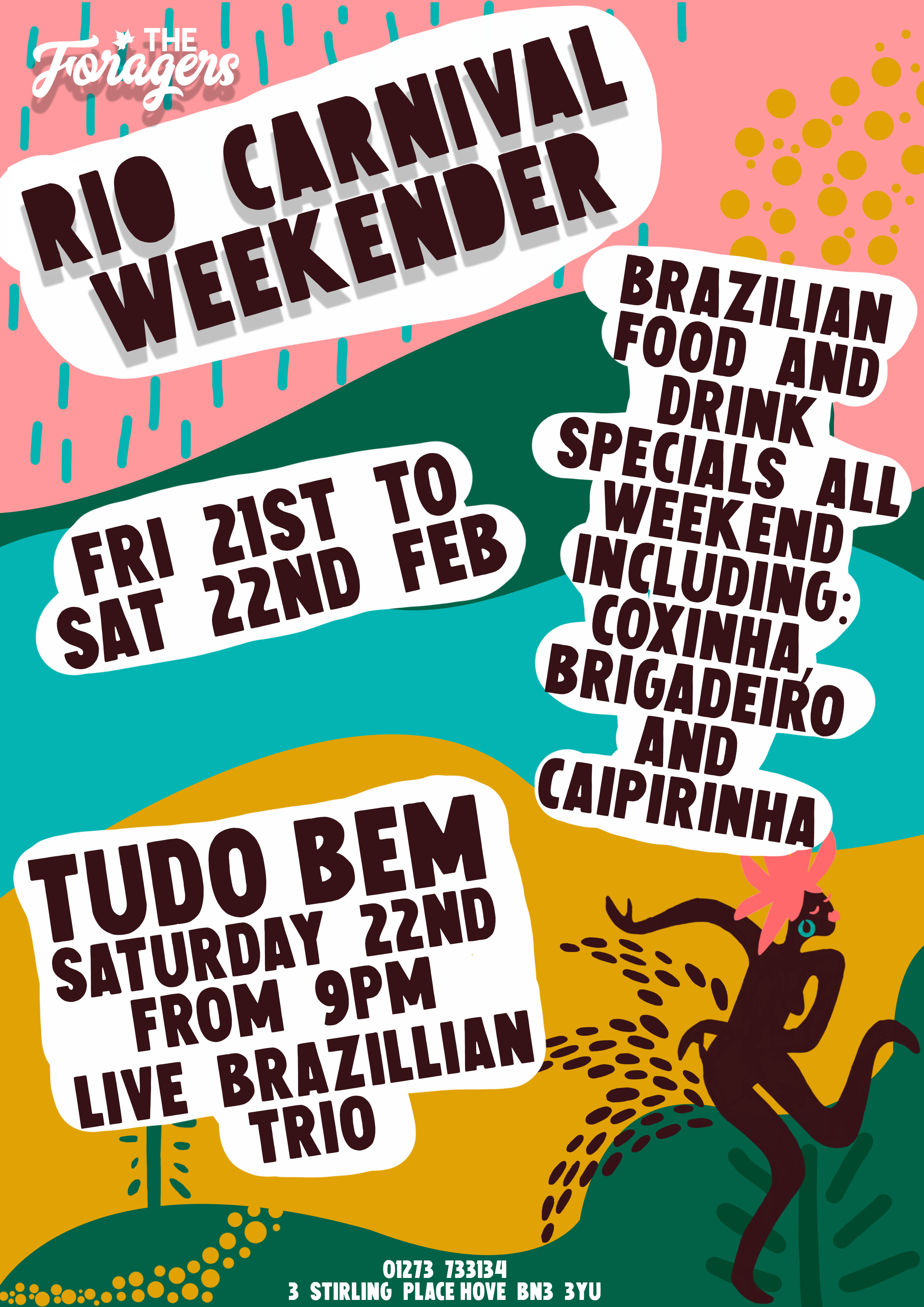 The Foragers Rio Weekender