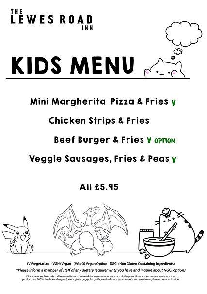 Lewes Road Kids Menu.jpg