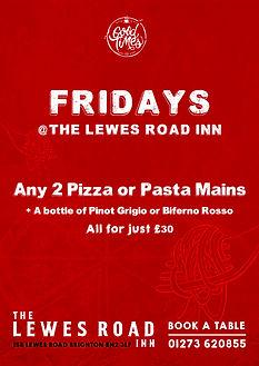 Lewes Road Friday Deal.jpg