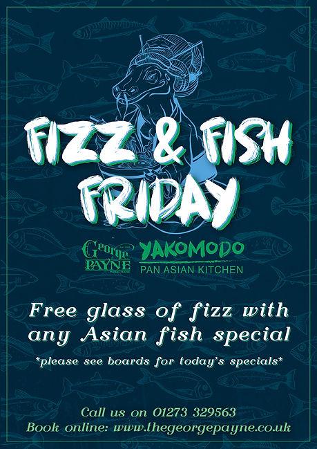Yakomodo Fizz & Fish Friday - The George Payne Pub in Hove