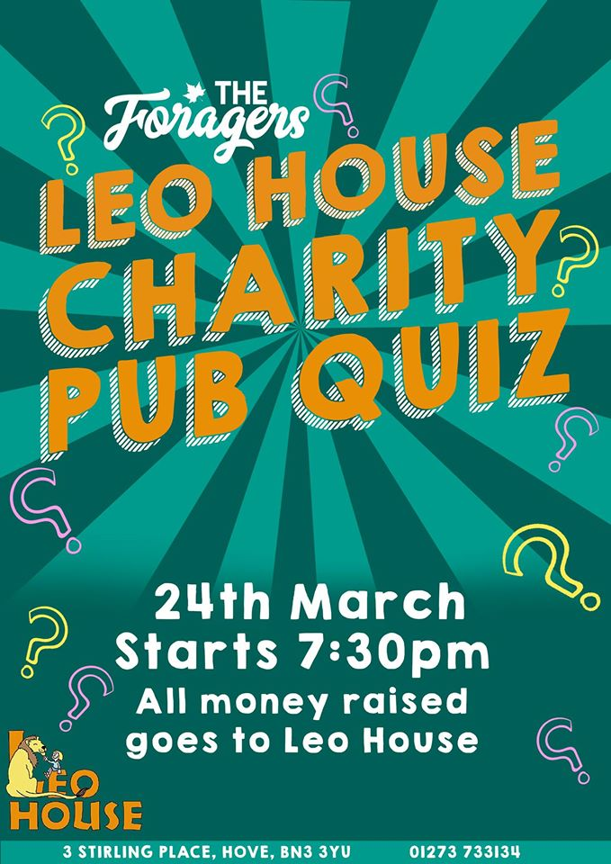 The Foragers Leo House Charity Quiz