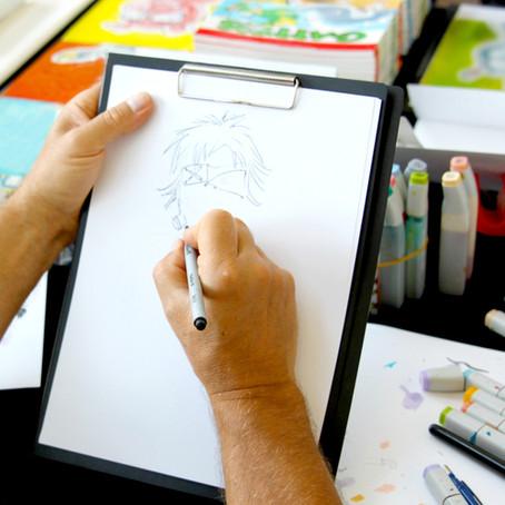 Quer aprender a desenhar durante essa quarentena sem sair de casa?