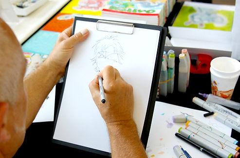 Dibujante de Animé