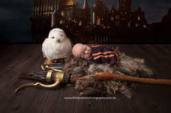 Harry Potter theme newborn