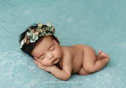 Tiffany Blue newborn photos