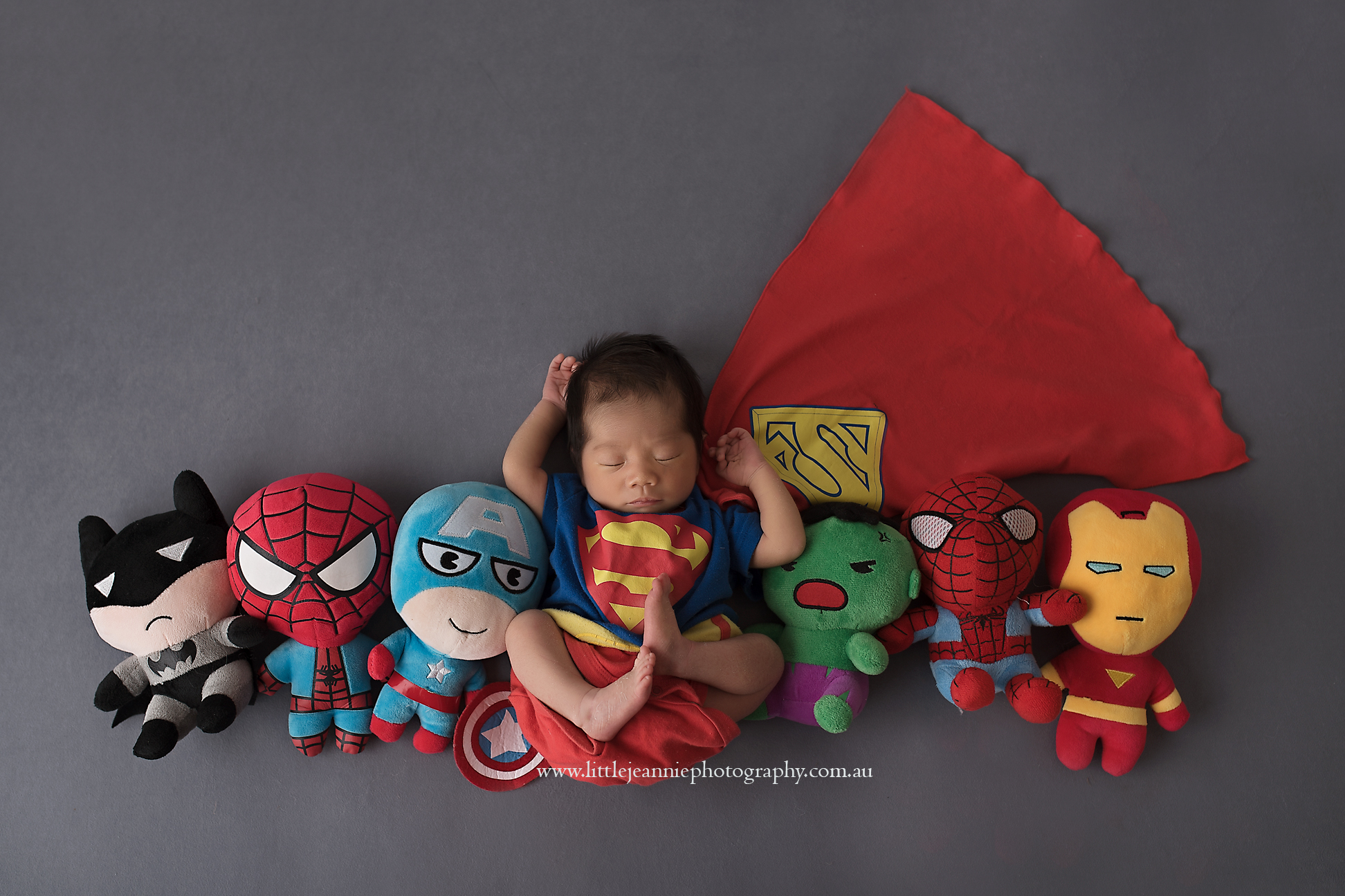 Superhero Newborn theme