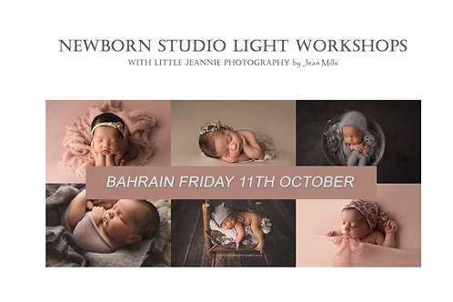 2nd Release ~ Bahrain Newborn Photography Workshop Friday 11th October 2019