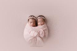 Twin girl photos