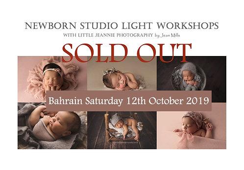 Bahrain Newborn Photography Workshop Saturday 12th October 2019
