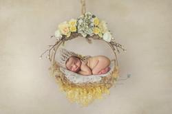 Hanging wreath Newborn Sydney