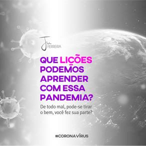 As lições da pandemia