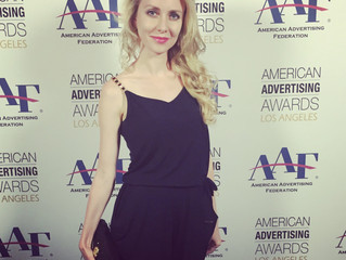 Julia at the ADDY Awards 2015