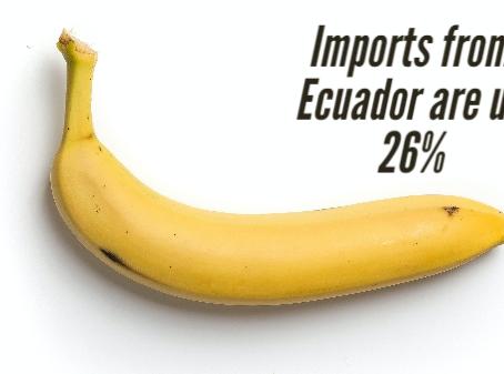 U.S. banana average price up amid COVID-19