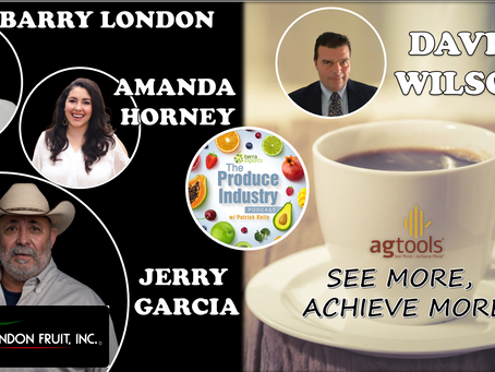 David Wilson of Ag Tools, Inc., Barry London, Amanda Horney & Jerry Garcia of London Fruit