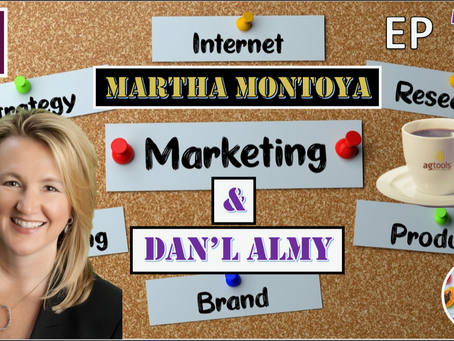 Martha Montoya, CEO of Ag Tools and Dan'l Almy, CEO of DMA SOLUTIONS