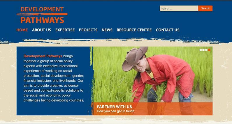 Development Pathways' old website