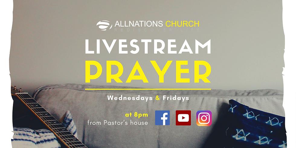 Livestream Prayer