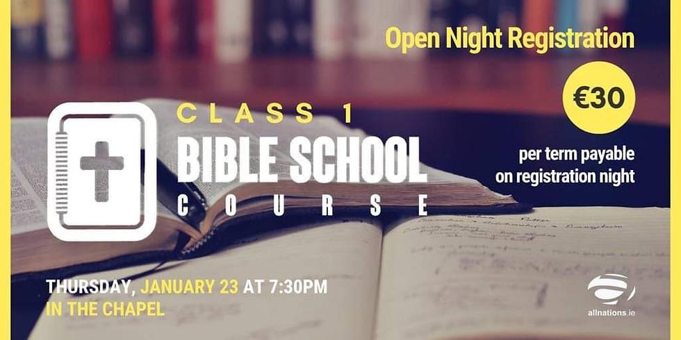 Bible School Open Night